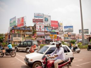The city of Bhubaneswar, India scored the highest position in the country's Smart Cities Initiative, with a 78.83 percent evaluation. The city will be competing with other across India to improve quality of life. Photo by Damien Roué/Flickr.