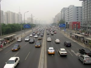 Sustainable sources of energy, like sludge-to-power, can help reduce air pollution in Beijing, China. Photo by Peter Dowley/Flickr.