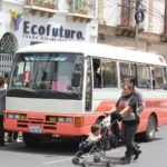 A bus in La Paz's informal sector. Photo by Jumaï Hadrien/Flickr.