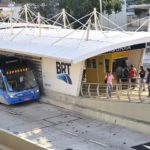 Rio de Janeiro's TransCarioca bus rapid transit (BRT) corridor. Photo by WRI Brasil Sustainable Cities/Flickr.