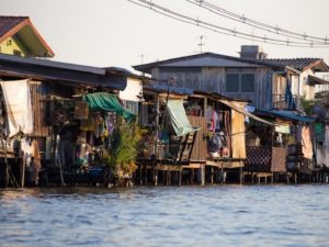 Housing along the canals in Bangkok. Photo by Alex Berger/Flickr
