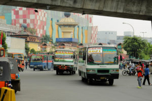 City Buses in Jakarta, Indonesia. Photo by World Resources Institute / Flickr