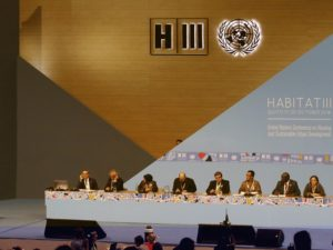 Urban World Leaders Gather for Habitat III Plenary Session. Photo by Agencia de Noticias ANDES / Flickr