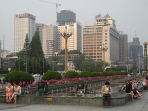Chengdu, China is a leader in low-carbon planning. Photo by Axel Drainville / Flickr