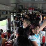A Busy TransMilenio Commute has Some Wondering about Sexual Assault. Photo by Eli Duke / Flickr