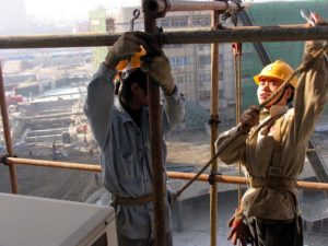 Construction Workers in Tianjin, China. Photo: Yang Aijun / World Bank / Flickr