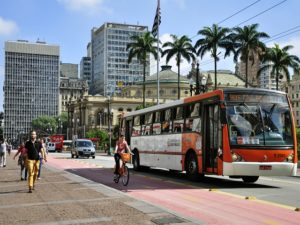 São Paulo, Brazil Offers a Variety of Mobility Options. Photo by Mariana Gil / WRI Brasil Sustainable Cities / Flickr