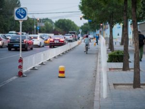 Infrastructure Incentivizes Use of Non-motorized Transport in Beijing. Photo by Benoit Colin / EMBARQ / Flickr