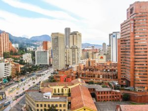 Bogota, Colombia is a Partner City of the Building Efficiency Accelerator. Photo by Rosalba Tarazona / Flickr