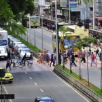 Planning for pedestrians involves considering the entire mobility system. Photo by Mariana Gil/ WRI Brasil