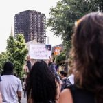 The tragedy of Grenfell Tower brought to light the global challenge of urban inequality and affordable housing. Photo by Wasi Daniju/Flickr