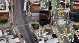 Photo Essay: Porto Alegre Uses Tactical Urbanism to Transform João Alfredo Street