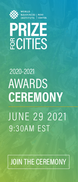 Register for the 2020-2021 Prize for Cities Awards Ceremony